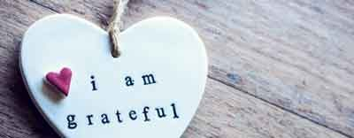 Gratitude, Positivity and a Wintry Punch to the Face